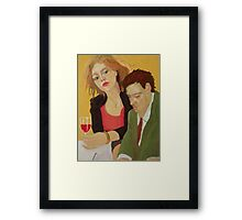 Gourmet Gaze Framed Print