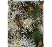Bee on gum blossom Diamond Creek Track 20150221 1546 iPad Case/Skin