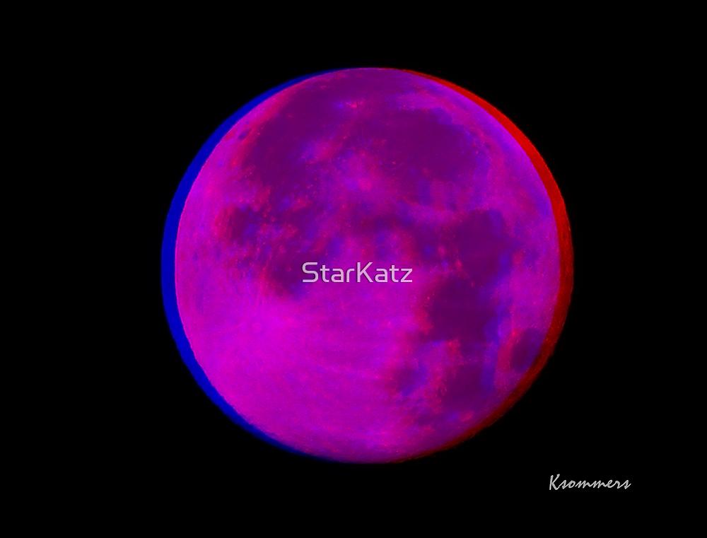 3D Moon by StarKatz