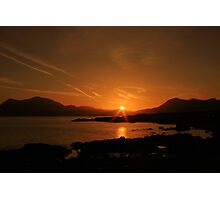 Connemara sunrise Photographic Print