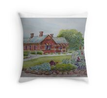 Truganina Explosives Reserve Keepers Quarters 3 Throw Pillow