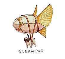 Steam pug Photographic Print
