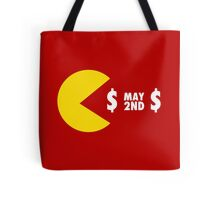 PACQUIAO VS MAYWEATHER MAY 2ND TEAM PACMAN Tote Bag