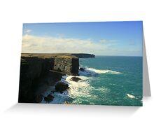 Loop Head Cliffs Greeting Card
