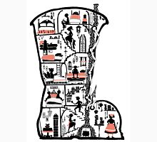 There was an old woman who lived in a shoe Unisex T-Shirt