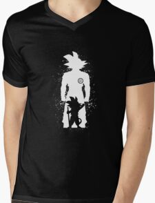 The Saiyan Child Mens V-Neck T-Shirt