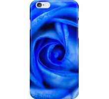Abstract Macro Blue Rose iPhone Case/Skin