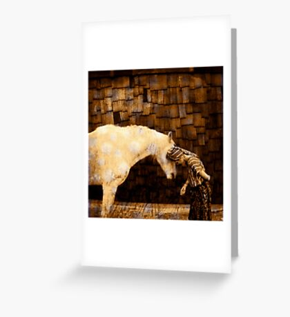 Horse Language Greeting Card