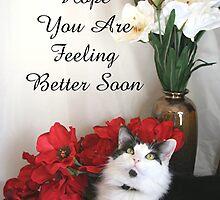 Feel Better Soon,  by CardLady