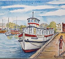 Little Gem, Williamstown (3) by Virginia  Coghill