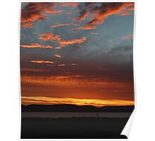 Sunset South Australia Poster