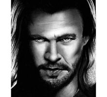 Thor - Chris Hemswoth Portrait by HarryJMichael