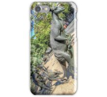 Kangaroos In The City 3 - Perth WA - HDR iPhone Case/Skin