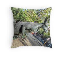 Kangaroos In The City 3 - Perth WA - HDR Throw Pillow