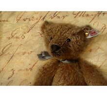 Vintage Ted Photographic Print