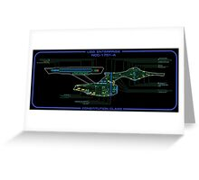 Refit Constitution Class MSD Greeting Card