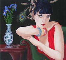 Iris Peacock by Michael McEvoy