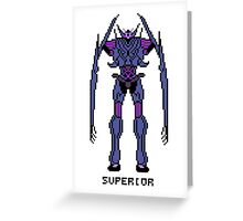 Transformers Prime Soundwave: Superior Greeting Card