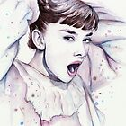 Audrey - Purple Scream by OlechkaDesign