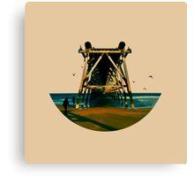 Skyless Composition | Three Canvas Print