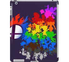 Smash Bros -chooser your fighter iPad Case/Skin