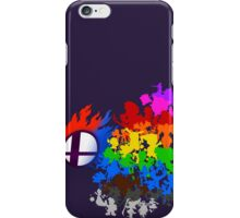 Smash Bros -chooser your fighter iPhone Case/Skin