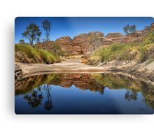 Purnululu Reflections Metal Print