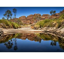 Purnululu Reflections Photographic Print