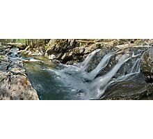 Foote Brook, Spring - Panorama Photographic Print