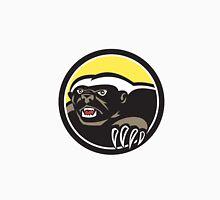 Honey Badger Claws Side Circle Retro Unisex T-Shirt