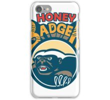 Honey Badger Mascot Claw Circle Retro iPhone Case/Skin