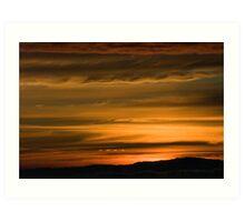 Andean Sunset Art Print