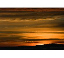 Andean Sunset Photographic Print