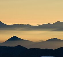 Andean Sunset II by Stephen Beattie