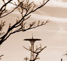 The Coney Island Parachute Jump by Paul Gitto