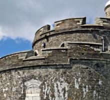 St Mawes Castle, East Side Bastion Sticker