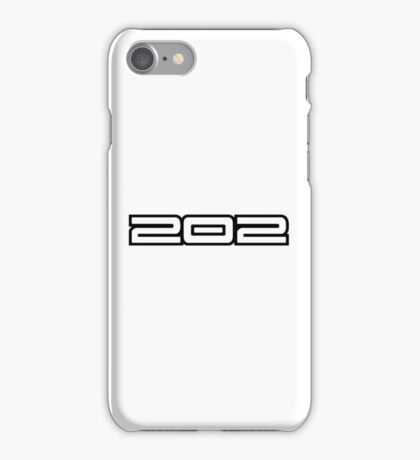 Holden 202 Motor iPhone Case/Skin
