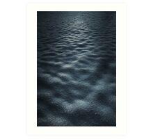 Moonlit Field Art Print