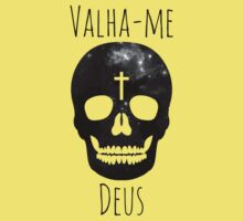 Valha-me Deus (Grayscale) Kids Clothes