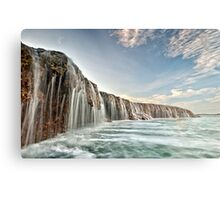 The Waterfall Reef  Metal Print