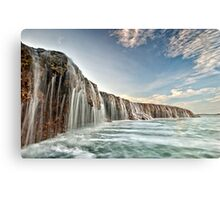 The Waterfall Reef  Canvas Print