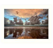 Cable Beach Cloudscape Art Print