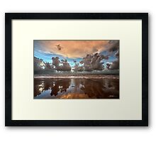 Cable Beach Cloudscape Framed Print