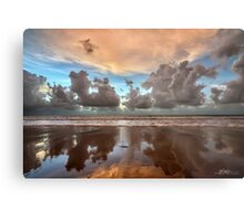 Cable Beach Cloudscape Metal Print