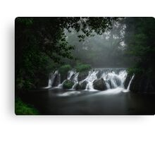 Cascade de l'Alzon Canvas Print