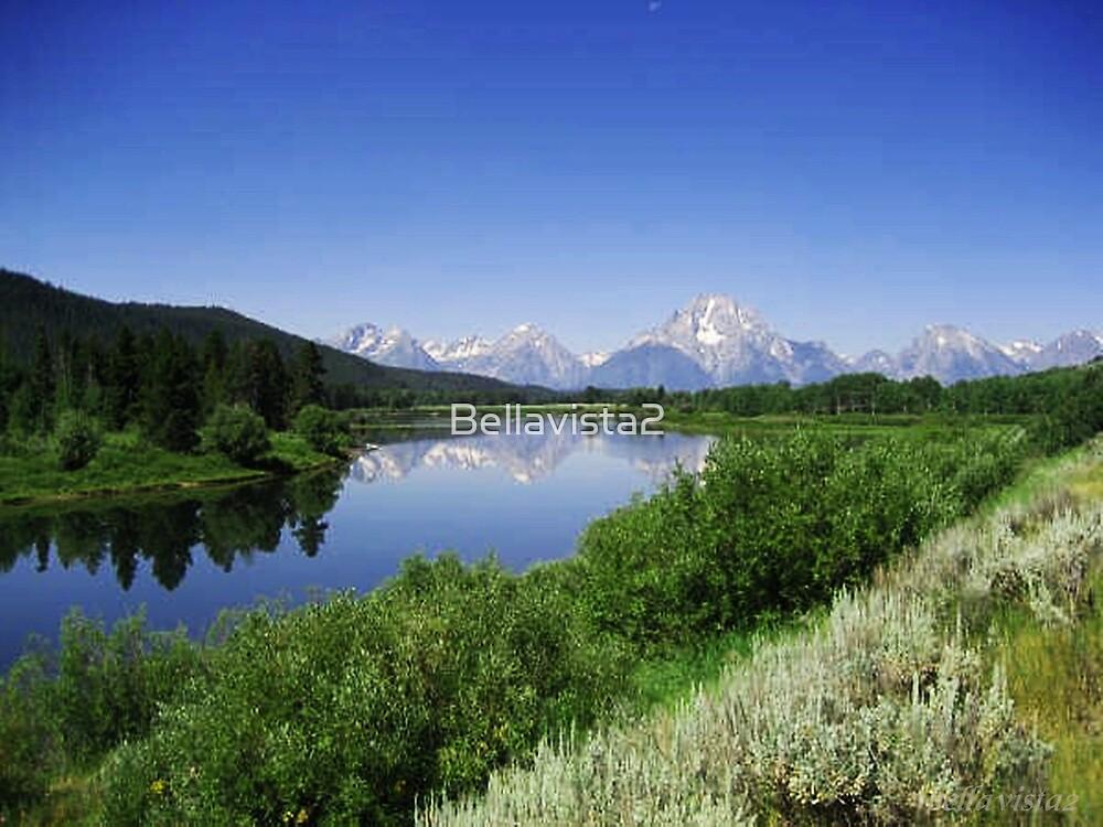 The Grand Tetons in the Grand Teton  NP Wyoming USA by Bellavista2