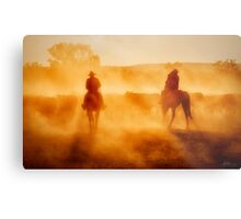 Life on the Land Metal Print