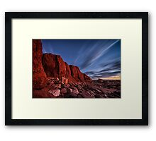Reddell After Dark Framed Print
