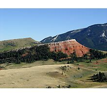 Pipestone Butte Photographic Print