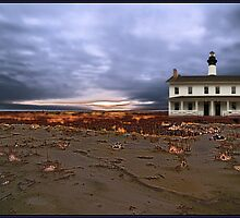 sandstorm lighthouse by Alexandr Grichenko